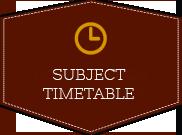 Horario por Asignatura Academic