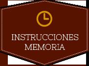 Instrucciones memoria