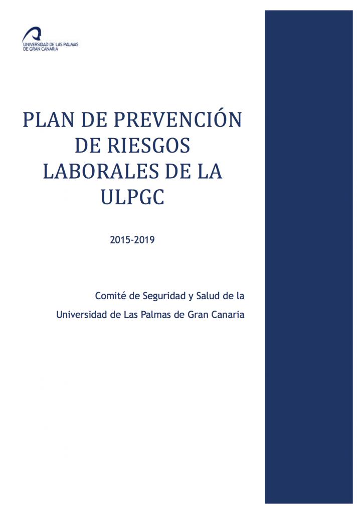 plan de prevencion de la ulpgc 2015-2019