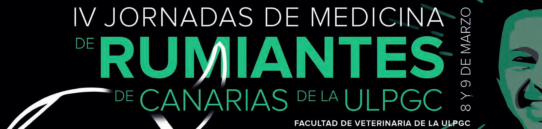 8-9 Mar IV Jornadas de Medicina de Rumiantes de Canarias de la ULPGC